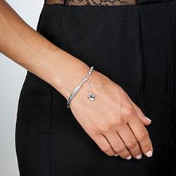Obrázek è. 4 k produktu: Støíbrný náramek Hot Diamonds Breeze