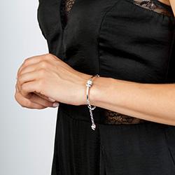 Obrázek è. 6 k produktu: Støíbrný náramek Hot Diamonds Parade
