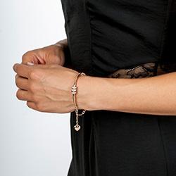 Obrázek è. 4 k produktu: Støíbrný náramek Hot Diamonds Parade Rose Gold