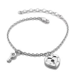 Obrázek è. 2 k produktu: Støíbrný náramek Hot Diamonds Love DL560