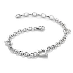 Obrázek è. 2 k produktu: Støíbrný náramek Hot Diamonds Love DL564