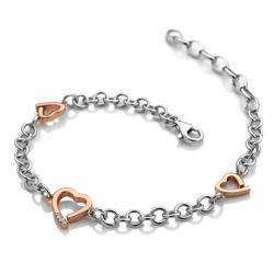 Obrázek è. 2 k produktu: Støíbrný náramek Hot Diamonds Love DL565