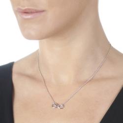 Obrázek è. 4 k produktu: Støíbrný náhrdelník Hot Diamonds Infinity