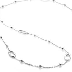 Obrázek è. 2 k produktu: Støíbrný náhrdelník Hot Diamonds Orbit Long