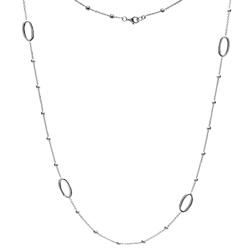 Støíbrný náhrdelník Hot Diamonds Orbit