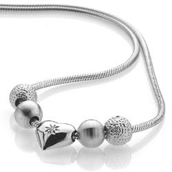 Obrázek è. 2 k produktu: Støíbrný náhrdelník Hot Diamonds Trinket