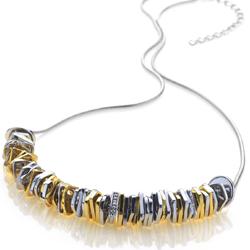 Obrázek č. 1 k produktu: Stříbrný náhrdelník Hot Diamonds By The Shore Gold
