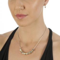 Obrázek č. 3 k produktu: Stříbrný náhrdelník Hot Diamonds By The Shore Gold