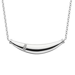 Stříbrný náhrdelník Hot Diamonds Belle