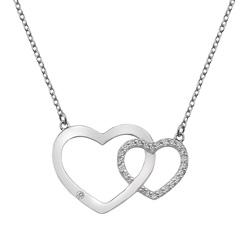 Stříbrný náhrdelník Hot Diamonds Love DN128
