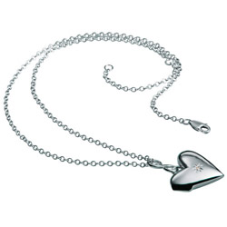 Obrázek è. 2 k produktu: Náhrdelník Hot Diamonds Just Add Love DP142