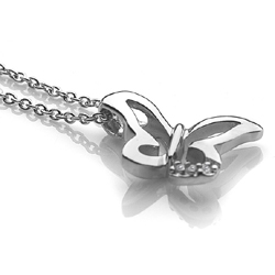 Obrázek è. 2 k produktu: Støíbrný pøívìsek Hot Diamonds Flutter Micro DP264