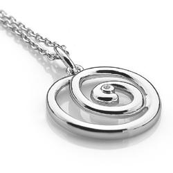 Obrázek è. 4 k produktu: Støíbrný pøívìsek Hot Diamonds Eternity Spiral DP371