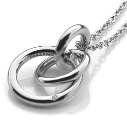 Obrázek č. 3 k produktu: Stříbrný přívěsek Hot Diamonds Eternity Interlocking DP372