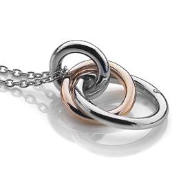 Obrázek è. 2 k produktu: Støíbrný pøívìsek Hot Diamonds Eternity Rose Gold DP373