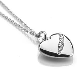 Obrázek è. 2 k produktu: Støíbrný pøívìsek Hot Diamonds Shooting Stars Heart