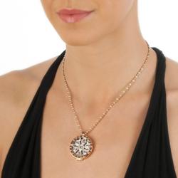 Obrázek è. 16 k produktu: Støíbrný pøívìsek Hot Diamonds Emozioni Coin Keeper Rose