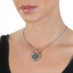 Obrázek è. 4 k produktu: Støíbrný pøívìsek Hot Diamonds Emozioni Capri Coin Keeper 25