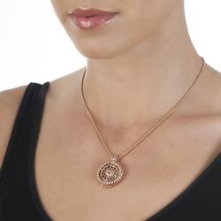 Obrázek è. 16 k produktu: Støíbrný pøívìsek Hot Diamonds Emozioni Sorrento Coin Keeper Rose