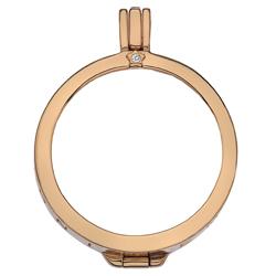 Obrázek č. 5 k produktu: Stříbrný přívěsek Hot Diamonds Emozioni Capri Coin Keeper Rose Gold