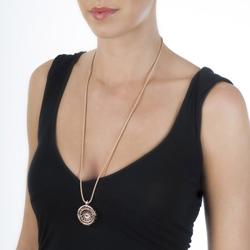Obrázek č. 15 k produktu: Stříbrný přívěsek Hot Diamonds Emozioni Capri Coin Keeper Rose Gold