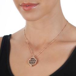 Obrázek č. 19 k produktu: Stříbrný přívěsek Hot Diamonds Emozioni Capri Coin Keeper Rose Gold