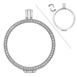 Obrázek è. 4 k produktu: Støíbrný pøívìsek Hot Diamonds Emozioni Reversible Coin Keeper
