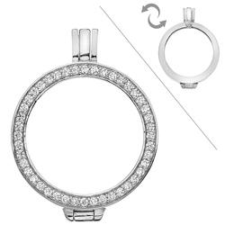 Obrázek è. 6 k produktu: Støíbrný pøívìsek Hot Diamonds Emozioni Reversible Coin Keeper