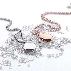 Obrázek č. 4 k produktu: Stříbrný přívěsek Hot Diamonds Memoirs Oval Locket Rose