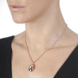Obrázek č. 2 k produktu: Stříbrný přívěsek Hot Diamonds Memoirs Oval Locket Rose