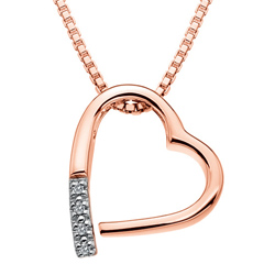 Přívěsek Hot Diamonds Just Add Love Memories Rose Gold