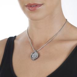 Obrázek č. 1 k produktu: Stříbrný přívěsek Hot Diamonds Emozioni Coin Keeper Black Rhodium