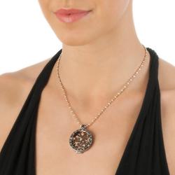 Obrázek è. 10 k produktu: Støíbrný pøívìsek Hot Diamonds Emozioni Coin Keeper Black Rhodium