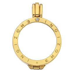 Obrázek è. 16 k produktu: Støíbrný pøívìsek Hot Diamonds Emozioni Coin Keeper Yellow