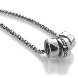 Obrázek è. 4 k produktu: Støíbrný náhrdelník Hot Diamonds Trio