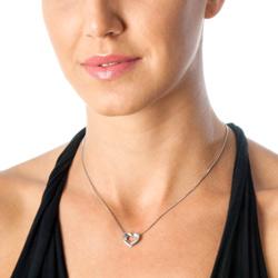 Obrázek è. 8 k produktu: Støíbrný pøívìsek Hot Diamonds Emerge Heart