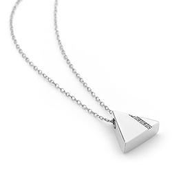 Obrázek è. 4 k produktu: Støíbrný pøívìsek Hot Diamonds Silhouette Triangle