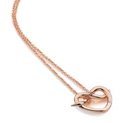 Obrázek è. 2 k produktu: Støíbrný pøívìsek Hot Diamonds Infinity Heart Rose Gold