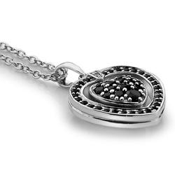 Obrázek è. 2 k produktu: Støíbrný náhrdelník Hot Diamonds Turning Heart
