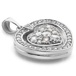 Obrázek è. 4 k produktu: Støíbrný náhrdelník Hot Diamonds Turning Heart