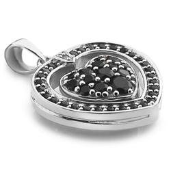 Obrázek è. 6 k produktu: Støíbrný náhrdelník Hot Diamonds Turning Heart