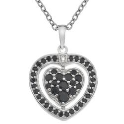Obrázek è. 10 k produktu: Støíbrný náhrdelník Hot Diamonds Turning Heart