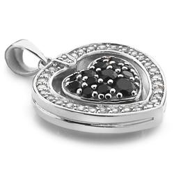 Obrázek è. 12 k produktu: Støíbrný náhrdelník Hot Diamonds Turning Heart