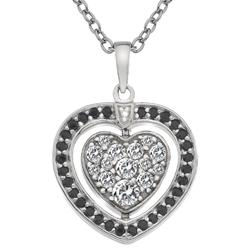Obrázek è. 14 k produktu: Støíbrný náhrdelník Hot Diamonds Turning Heart