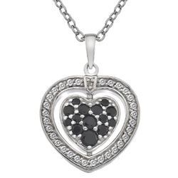 Obrázek è. 16 k produktu: Støíbrný náhrdelník Hot Diamonds Turning Heart