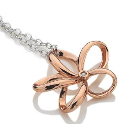 Obrázek è. 2 k produktu: Støíbrný pøívìsek Hot Diamonds Paradise Rose Gold