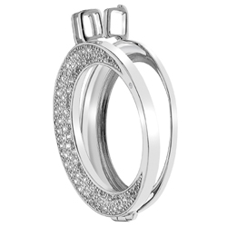 Støíbrný pøívìsek Hot Diamonds Emozioni Luna Coin Keeper