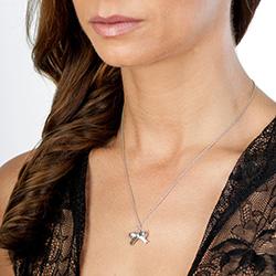 Obrázek è. 6 k produktu: Støíbrný pøívìsek Hot Diamonds Ribbon DP630