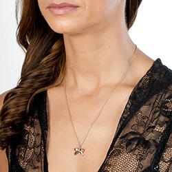 Obrázek è. 6 k produktu: Støíbrný pøívìsek Hot Diamonds Ribbon Plated DP631