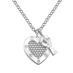 Støíbrný pøívìsek Hot Diamonds Love DP654